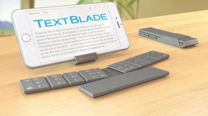 TextBlade สิ่งประดิษฐ์ใหม่ช่วยให้การพิมพ์บนโมบายเป็นเรื่องง่าย
