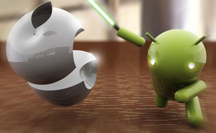 Google Play ฉลองยอดแอพฯ แซงหน้า App Store