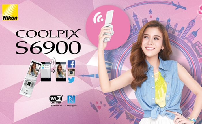 [PR] Nikon COOLPIX S6900 กล้องเซลฟี่น้องใหม่จาก Nikon ไอเท็มที่สาวๆ ควรมี