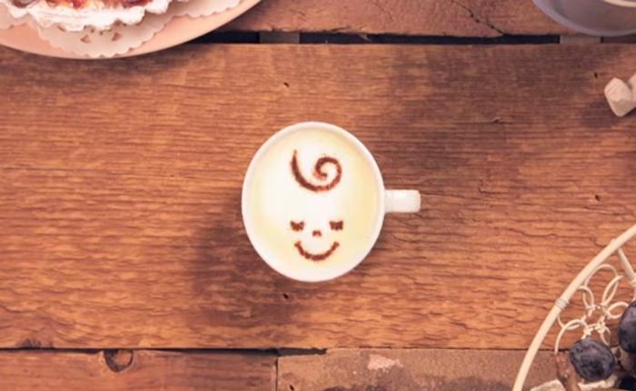 กาแฟนญี่ปุ่น โปรโมทแบรนด์ด้วย stop motion ใช้ลาเต้กว่า 1 พันถ้วยสร้างสรรค์