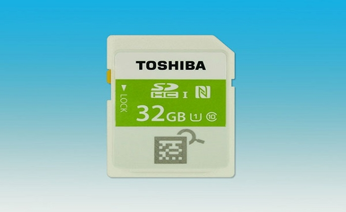 โตชิบา เปิดตัด SD Card ตัวแรกของโลก ที่ใส่เทคโนโลยี NFC