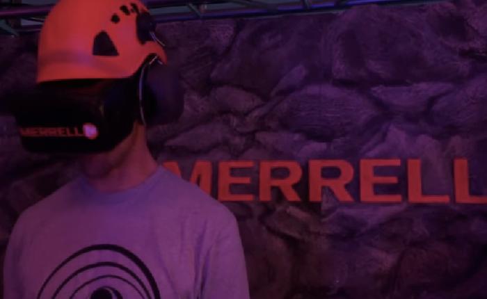 แบรนด์รองเท้ากีฬา ชวนคนใส่แว่น VR ปีนเขาในที่ร่ม แต่เสียวเหมือนอยู่บนยอดเอเวอร์เรสต์