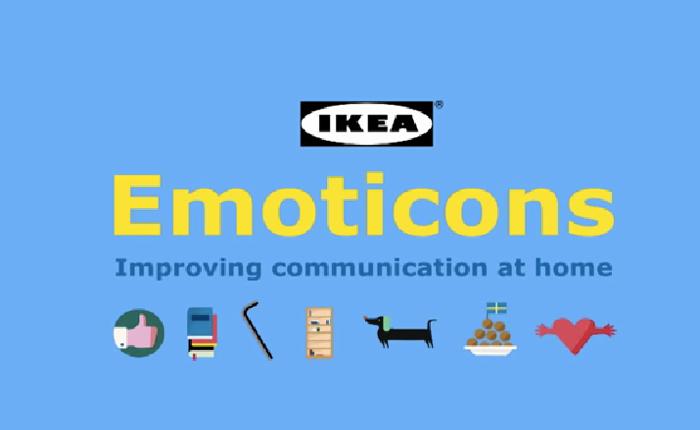 ikea ฉลองวาเลนไทน์ ออกแอปฯ ให้คู่รักสื่อสารกันแบบเข้าใจ 100% ด้วย Emoticon ในแป้นพิมพ์