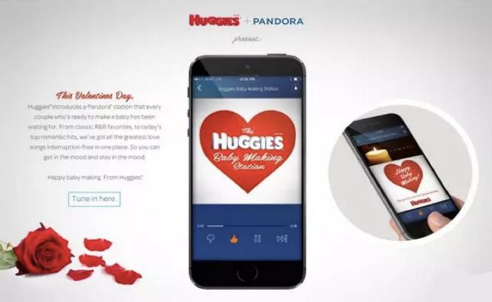 ผ้าอ้อม Huggies คิดลึก! สร้างสถานีเพลงรักฟังเพลงสุดโรแมนติกหวังคู่รัก Make a babies ช่วงวาเลนไทน์!