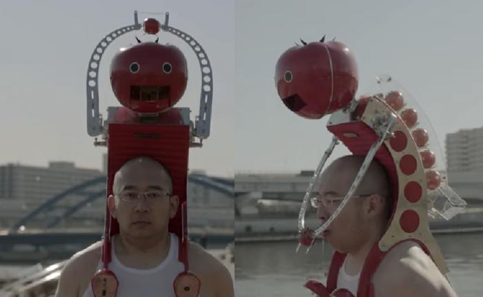 บริษัทญี่ปุ่นเว่อร์สุดขีด! คิดค้นเครื่องป้อนมะเขือขณะวิ่งออกกำลังกาย! เพื่อหวังให้นักวิ่งมาทานมะเขือกันเยอะขึ้น!