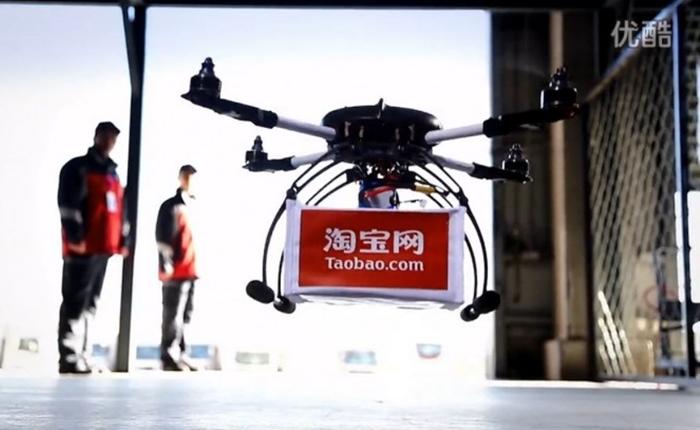 Alibaba ทดสอบการส่งสินค้าด้วยเครื่องบินบังคับขนาดเล็ก ชิงตัดหน้า Amazon