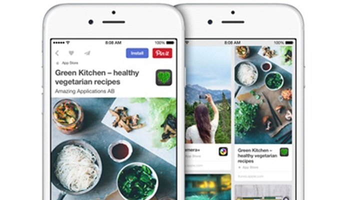 Pinterest จับมือ Apple ออกฟีเจอร์ใหม่ Apple Pin ช่วยผู้ใช้ค้นหาแอพพลิเคชั่น