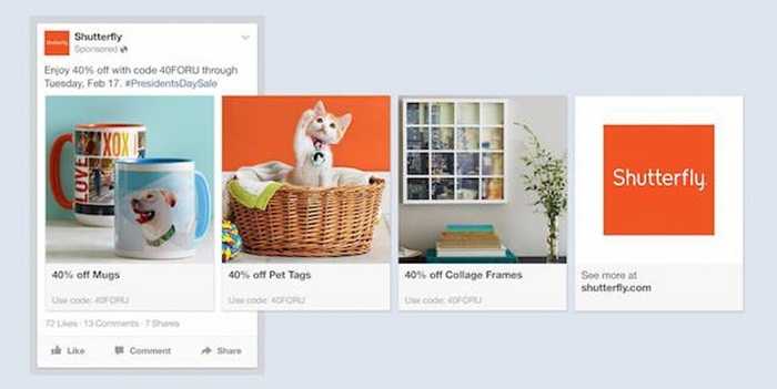 Facebook ส่งฟีเจอร์ใหม่ product advertisement เน้นให้แบรนด์ขายสินค้า