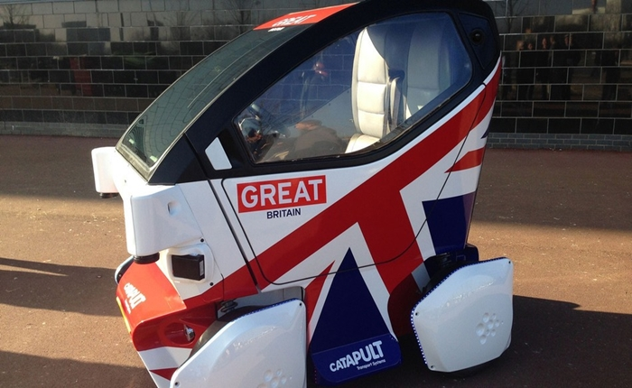 """อังกฤษอนุมัติการทดสอบ """"รถไร้พลขับ"""" บนถนนสาธารณะแล้ว"""