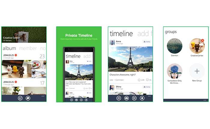 LINE บน Microsoft Lumia ปรับโฉมใหม่!