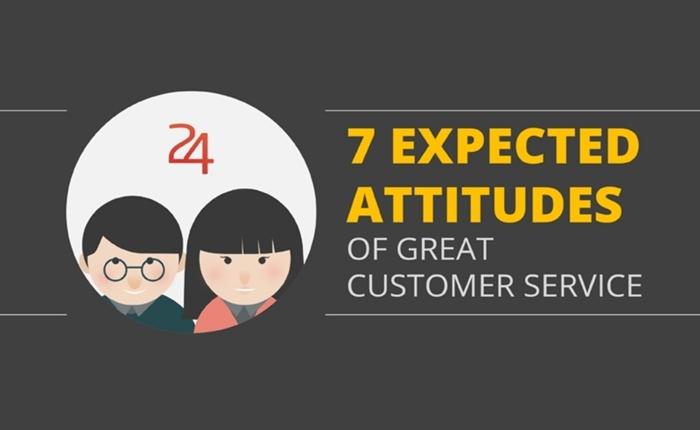 [INFOGRAPHIC] 7 ทัศนคติที่ดี สำหรับการบริการลูกค้าให้ดีเยี่ยม