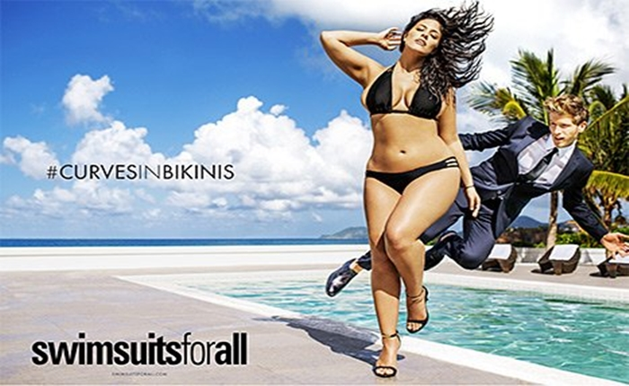 """กระแส """"พลัสไซส์"""" มาแรง! Sports Illustrated ให้นางแบบสาวไซส์ใหญ่ถ่ายแบบชุดว่ายน้ำ"""