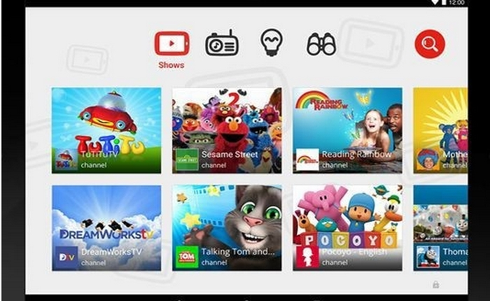 YouTube เปิดตัว YouTube Kids สำหรับแอนดรอยด์แล้ววันนี้