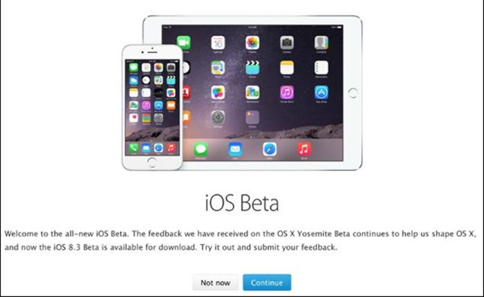 แอปเปิ้ล เปิดให้ผู้ใช้งานทดสอบ iOS รุ่นเบต้ามากขึ้น