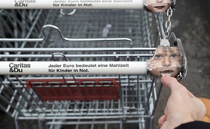 NGO ออสซี่ใช้ Ambient Media ถูกที่กระตุ้นคนยุโรปบริจาค 1 ยูโรเพื่อเด็กน้อย!