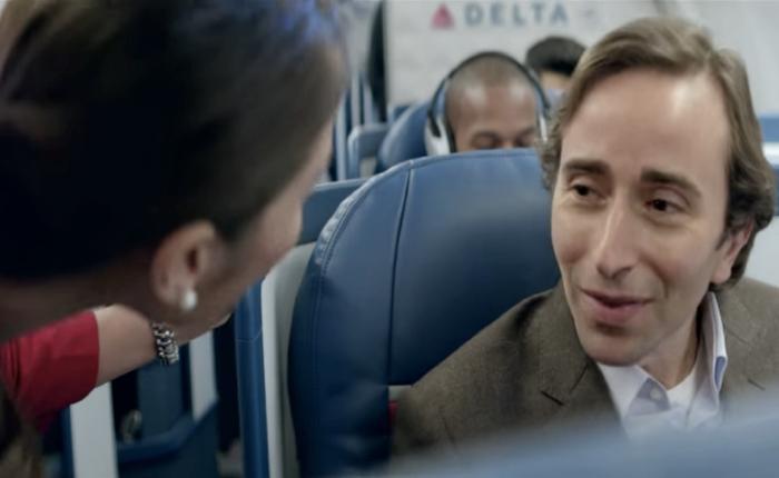 Delta Air ส่งโฆษณาสุด Touch ให้ความมั่นใจกับนักธุรกิจ เครื่องบินลำนี้อาจจะไม่ใช่บ้านแต่ก็ใกล้เคียง