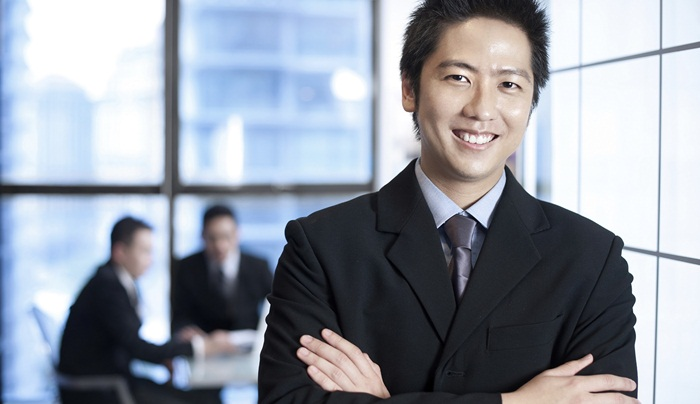 Asian-businessman