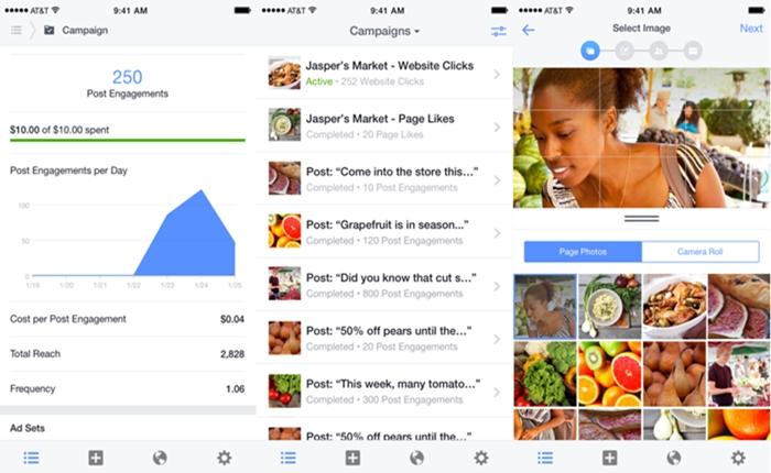 Facebook เปิดตัวแอพ Ads Manager บริหารโฆษณาบนมือถือ