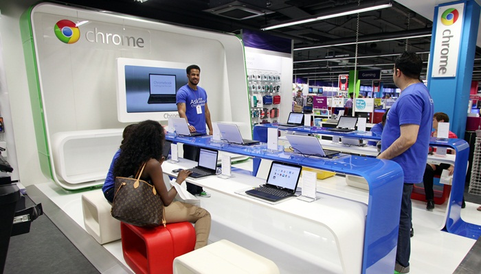 Google Shop เปิดตัวแห่งแรกในลอนดอน