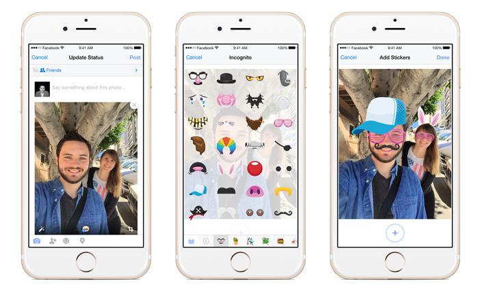Facebook เปิดตัวสติ๊กเกอร์ชุดใหม่ เพิ่มความสนุกในการแชร์ภาพด้วยสติ๊กเกอร์