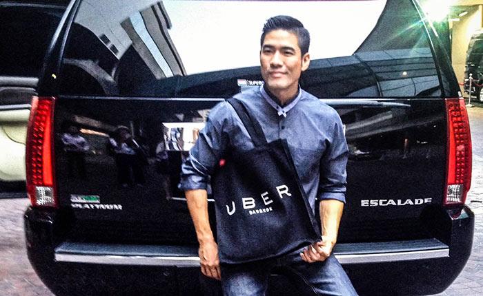 Uber ดึง วู้ดดี้ มาเป็นคนขับรถแท็กซี่
