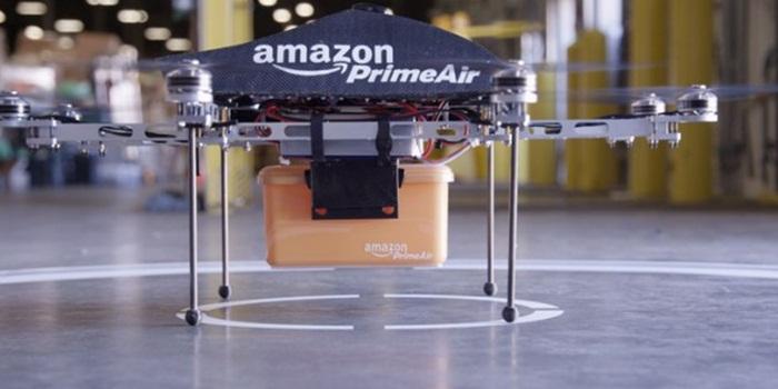 Amazon เริ่มทดลองส่งสินค้าด้วย Drones แล้ว