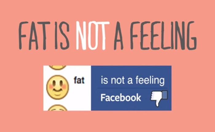 """นักเคลื่อนไหวเรียกร้องให้ Facebook ยกเลิกสเตตัสฟีลลิ่ง """"รู้สึก อ้วน"""""""