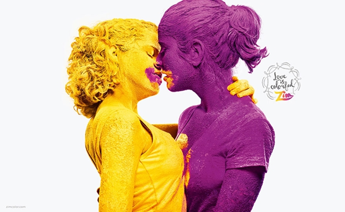 """แบรนด์ผงสีปล่อยแคมเปญ """"Love Is Colorful"""" สนับสนุนความรักแบบLGBT"""