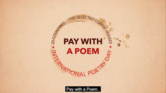 pay with the poet