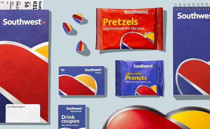Southwest Airlines นำเสนอดีไซน์ใหม่ สนุก มีเอกลักษณ์ และทรงพลัง