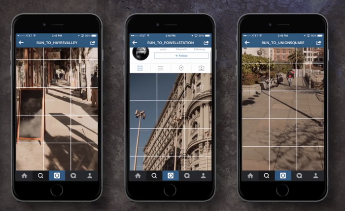 Reebok ใช้ Instagram เล่นเกมแข่งวิ่ง + Photo Hunt นำลูกค้าไปยังร้านค้ารับรองเท้าฟรี!