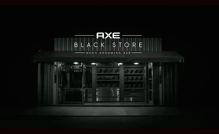 ความเรียบง่าย…สไตล์ที่พอดี กับ AXE Black Store
