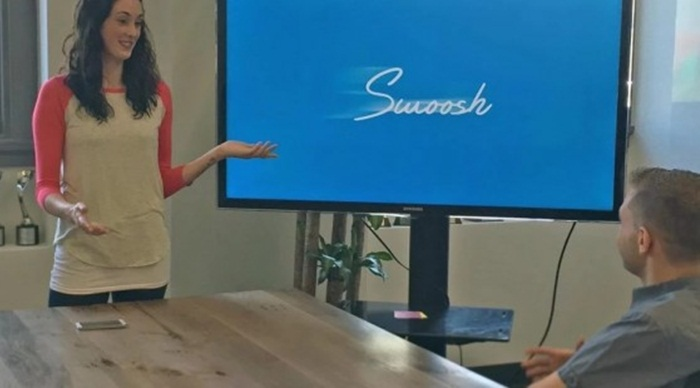 Swoosh แอพพลิเคชั่นใหม่ช่วยคุณพลิกสไลด์ได้เพียงปลายฝ่ามือ