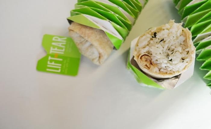 3 นศ.ออกแบบแพ็กเกจ สำหรับทานเบอร์ริโต้-ทาโก้ แบบไม่เลอะเทอะ ง่ายพกพา