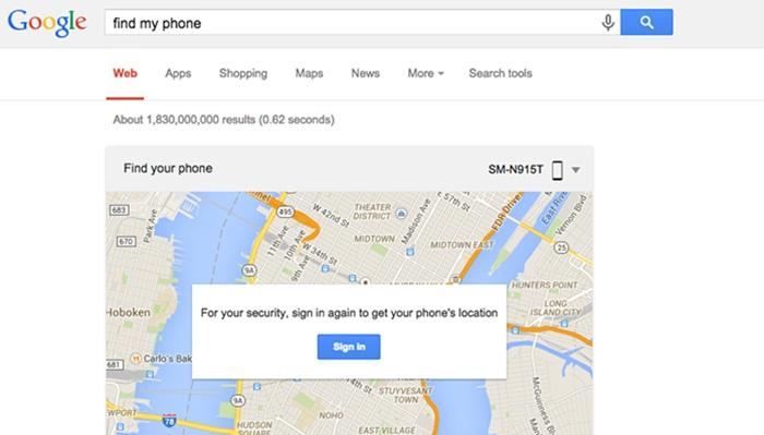 Google ออก Find my Phone ฟีเจอร์เก่าเล่าใหม่สำหรับผู้ใช้ Android ขี้ลืม