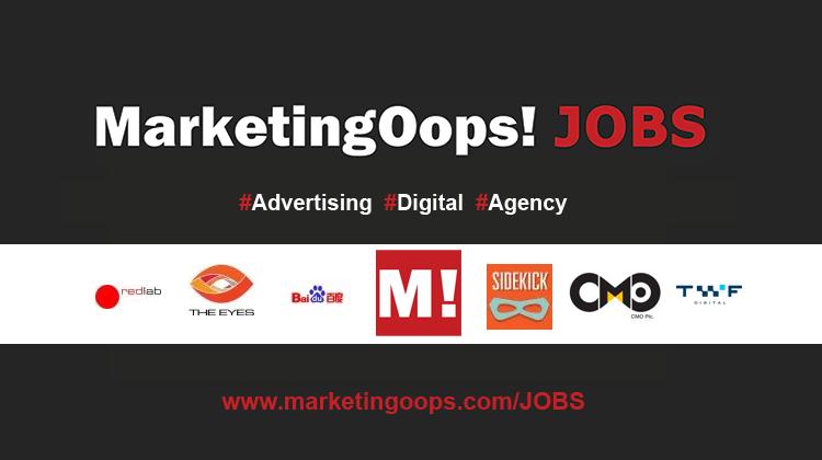 งานล่าสุด จากบริษัทและเอเจนซี่โฆษณาชั้นนำ #Advertising #Digital #JOBS 29-3 APR 2015