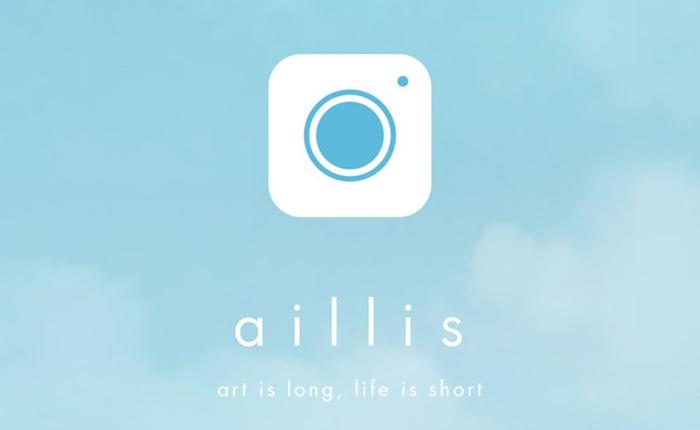 """""""LINE camera"""" เปลี่ยนชื่อใหม่เป็น """"aillis"""" พร้อมฟีเจอร์แต่งภาพสวยๆ เพิ่มขึ้น"""