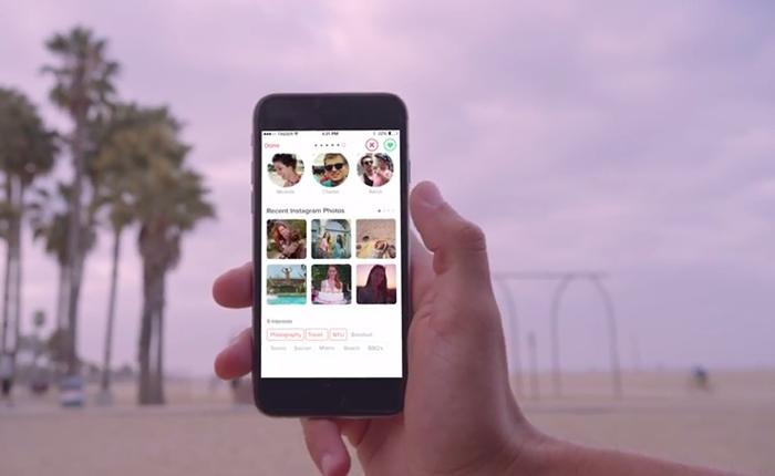 Tinder แอพฯหาคู่ เปิดให้ผู้ใช้งานค้นหาคนที่ใช่ผ่าน IG ได้แล้ว