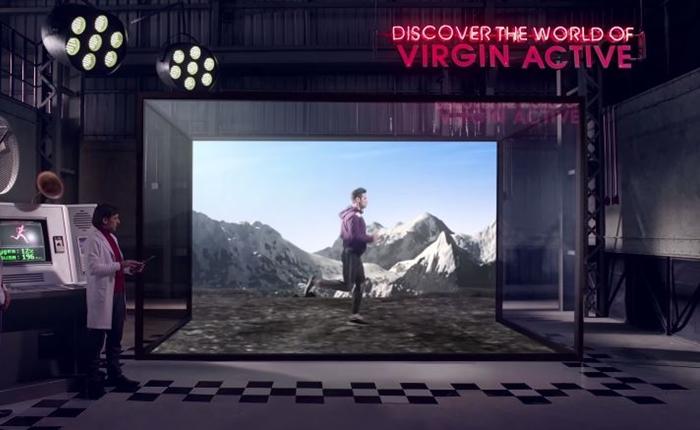 ฟิตเนสสุดล้ำ Virgin Active เผยคลิปห้องลับ ที่จะทำเบิร์นไว ในเวลาสั้นๆ เหมือนอยู่บนเทือกเขาจริง!