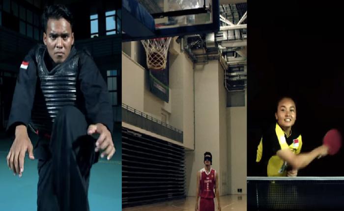 สิงคโปร์ส่งโฆษณาโชว์ความฟิตของนักกีฬาทีมชาติโปรโมทซีเกมส์ครั้งที่ 28 ที่แดนลอดช่องเป็นเจ้าภาพ