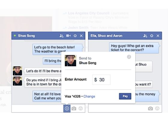 Payments-Facebook