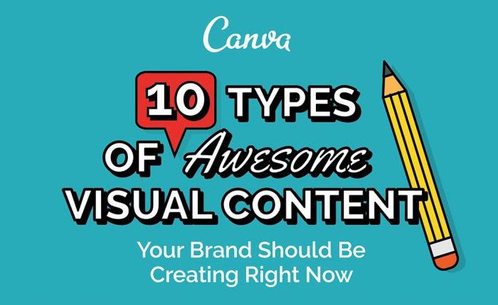 [Infographic] Visual Content 10 ประเภท ที่แบรนด์ต้องมีตอนนี้