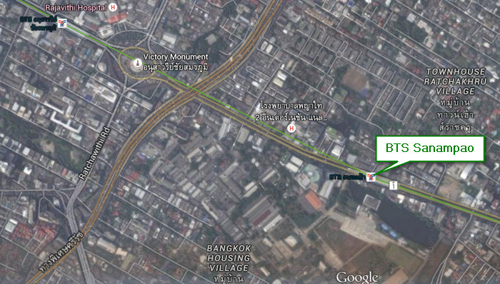 อนุสาวรีย์ สนามเป้า ถนนพหลโยธิน ย่านกลิ่นอายวัฒนธรรมเก่าที่ส่งต่อให้คนรุ่นใหม่