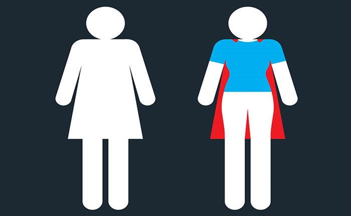 แคมเปญ It Was Never a Dress แล้วคุณจะมองผู้หญิงเปลี่ยนไปผ่านป้ายหน้าห้องน้ำ