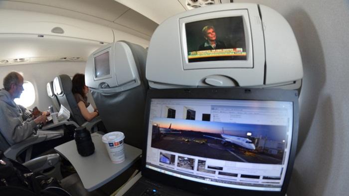 Amazon จับมือสายการบินมะกันเปิดให้สมาชิกดูวีดีโอบนเครื่องบินฟรี