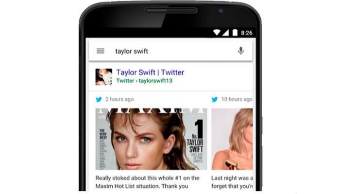 Google ปรับผลการค้นหาให้เจอ Tweet สำหรับผู้ใช้สมาร์ทโฟนและแท็บเล็ต