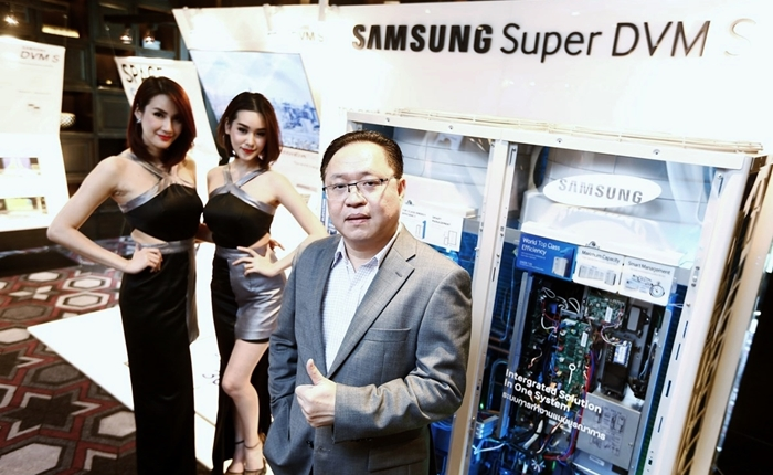 """[PR] ซัมซุงแนะนำระบบปรับอากาศ """"Samsung Super DVM S"""" สุดยอดนวัตกรรม """"ความประหยัด"""" ครบทุกองศา"""