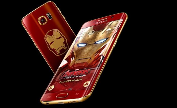 ซัมซุง เปิดตัว Galaxy S6 Edge รุ่น Iron Man Limited Edition