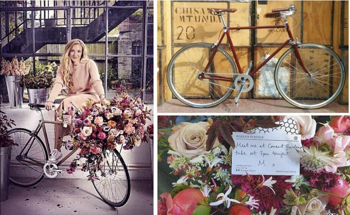 เล่าสู่กันฟังกับธุรกิจเก๋และโรแมนติก ขี่จักรยานส่งช่อดอกไม้ไปทั่วเมือง!