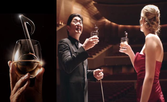 ค่ายเหล้าญี่ปุ่นจัดคอนเสิร์ตออเคสตร้าสุดล้ำ ใช้แก้วเหล้าแทนเครื่องดนตรี! เพื่อความสุทรีย์แบบที่ใครๆ ก็เลียนแบบยาก!